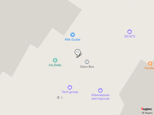 Шпинат на карте Мытищ