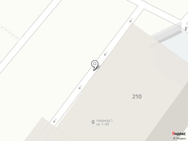 ТриДом на карте Новороссийска