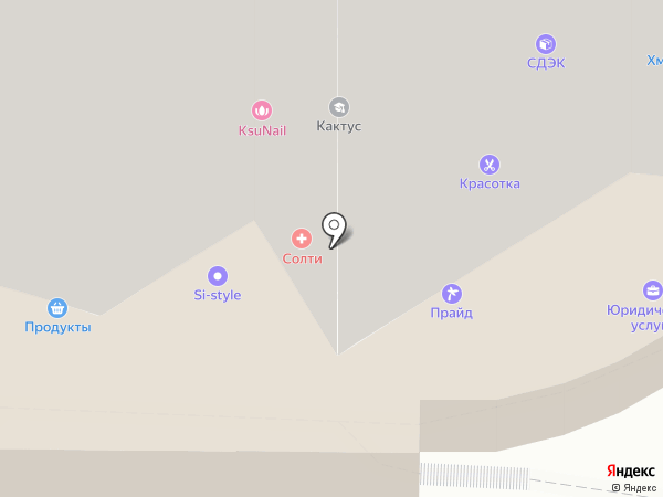 Интек на карте Видного