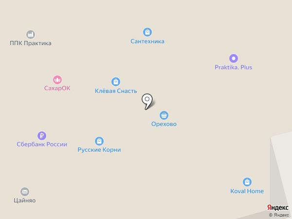 Сонрайс на карте Москвы