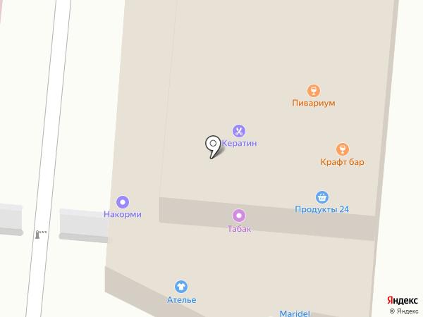 Маркет на карте Мытищ