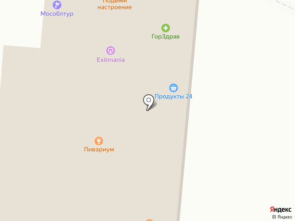 Окна Online на карте Мытищ