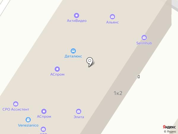Alfasale.ru на карте Москвы