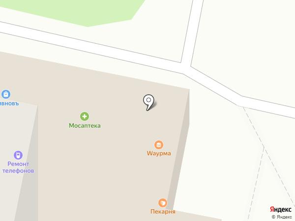 МосАптека на карте Москвы