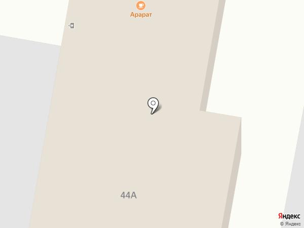 Арарат на карте Пирогово