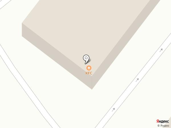 KFC на карте Новороссийска