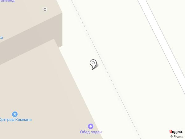 Наша Столовая на карте Москвы