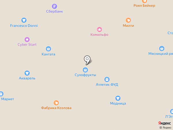 Магазин сухофруктов, семечек и специй на карте Мытищ