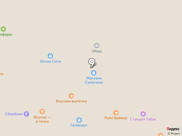 Сумочкин на карте Мытищ