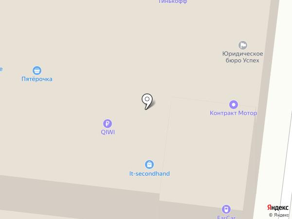 Берег на карте Москвы
