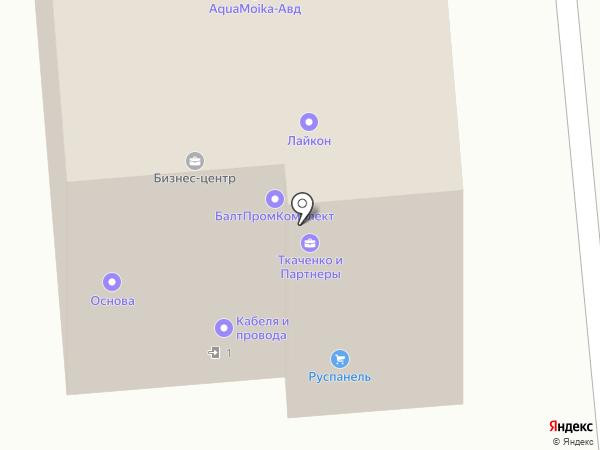 Массажный кабинет на карте Москвы