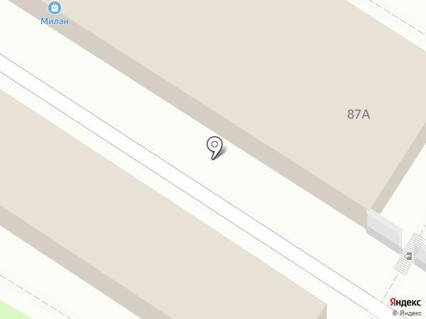 Западный рынок на карте Новороссийска