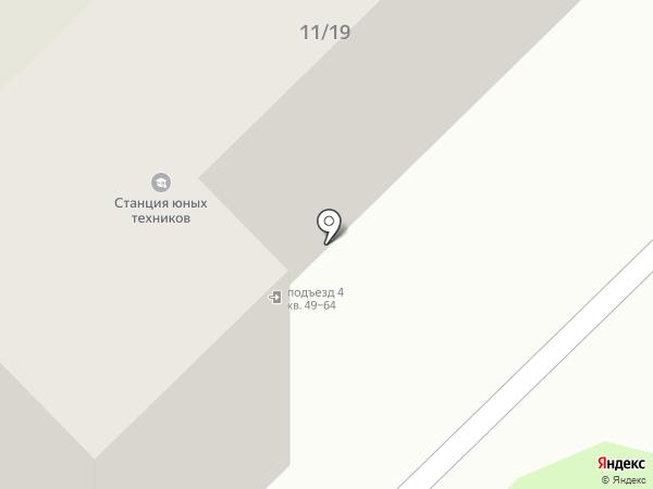 Станция Юных Техников, МБУ на карте Мытищ
