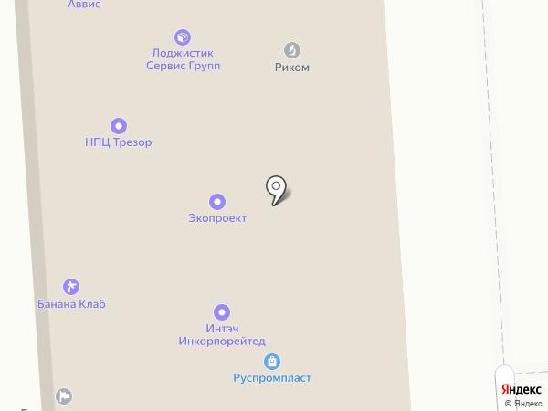МастерПЛАСТ на карте Москвы