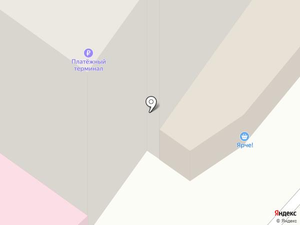 Стекляшка на карте Мытищ