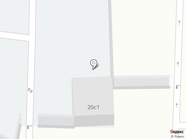 Автостоянка на карте Совхоза имени Ленина