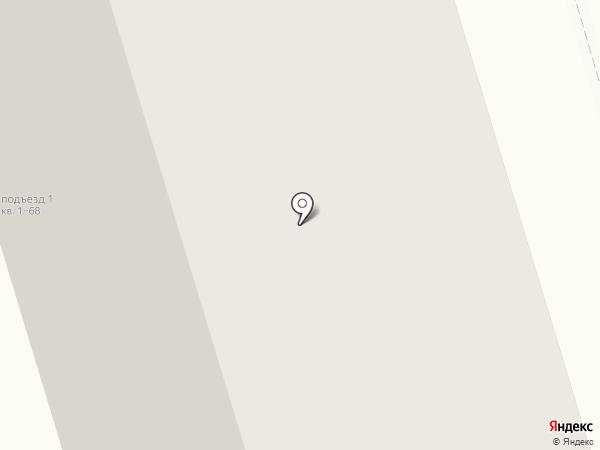На Малой Дмитровке на карте Москвы