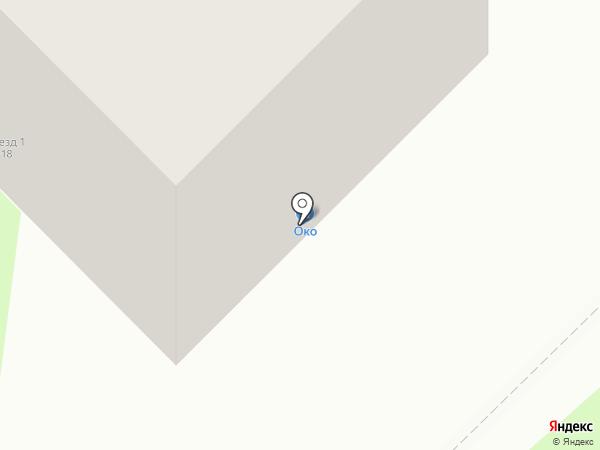 На Мира на карте Мытищ