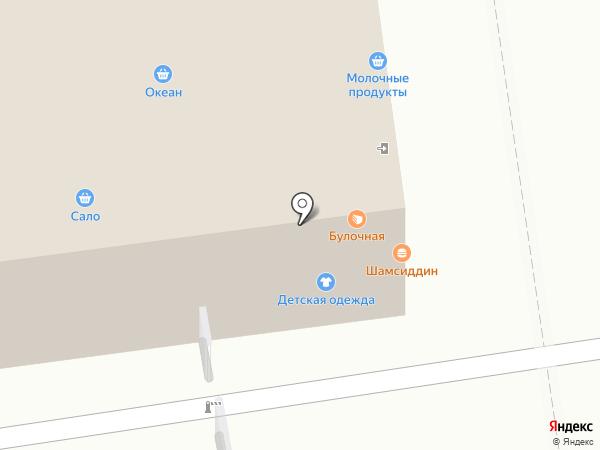 Магазин детской одежды на карте Москвы