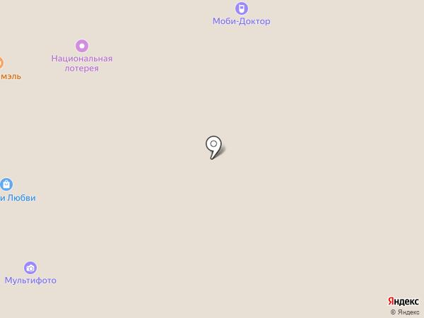 Джоконда на карте Москвы