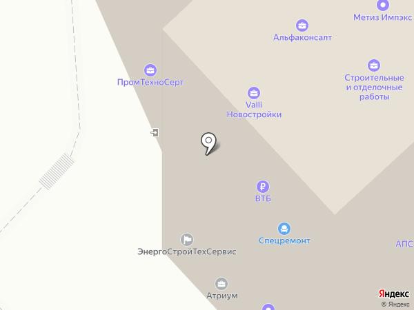 Промтехносерт, АНО на карте Мытищ