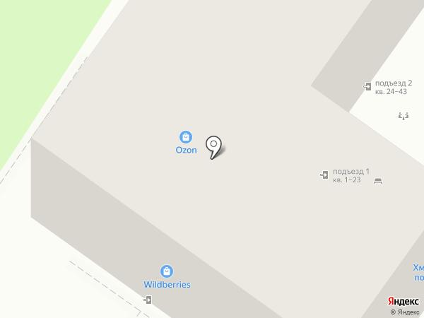 Новороссийское Общество Охотников и Рыболовов на карте Новороссийска