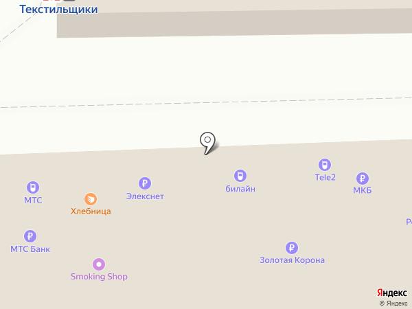 Платежный терминал, МТС-банк, ПАО на карте Москвы