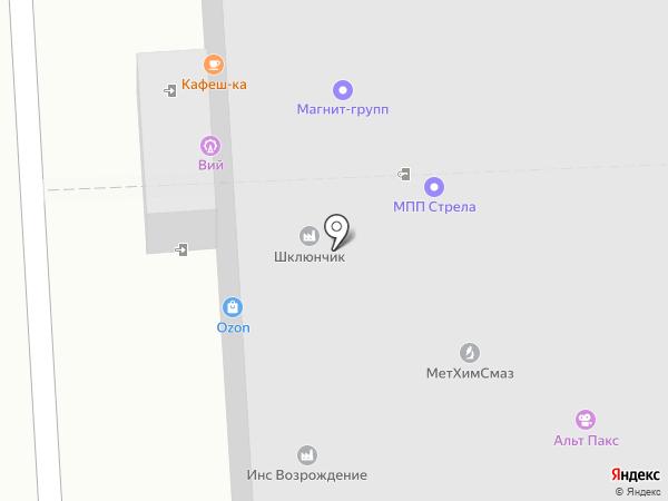 Kofe time на карте Москвы