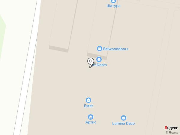 ЧУ на карте Москвы