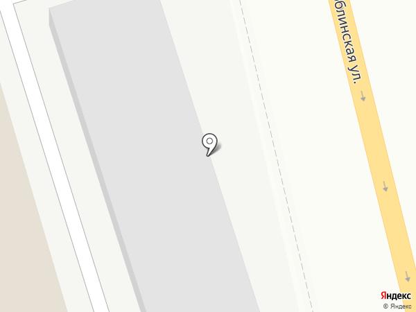 Шиномонтажная мастерская на Люблинке на карте Москвы