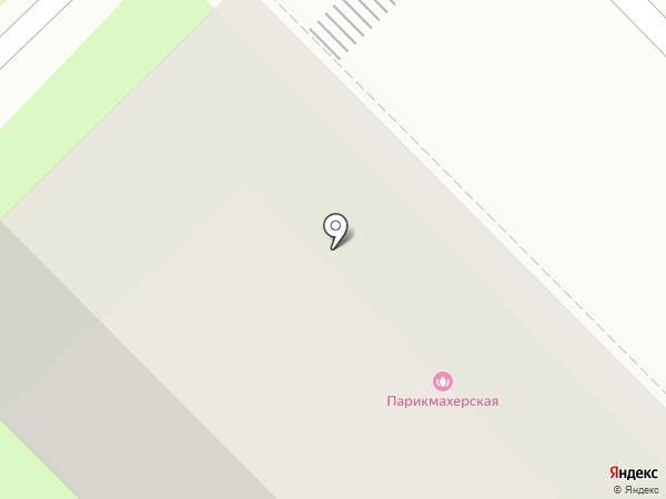Салон-парикмахерская эконом-класса на карте Мытищ
