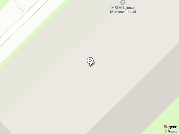 Мытищинский на карте Мытищ