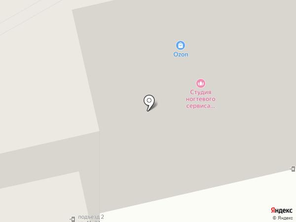 Малуся и рогопед на карте Домодедово