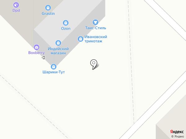 Останкино на карте Мытищ