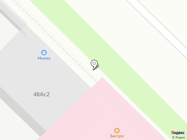 Амулет на карте Москвы