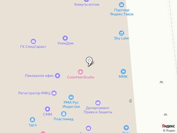 Алером на карте Москвы