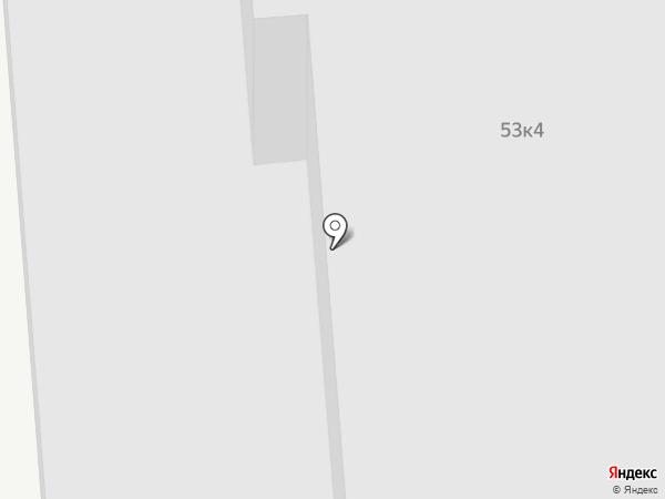 Технопарк Сапфир на карте Москвы