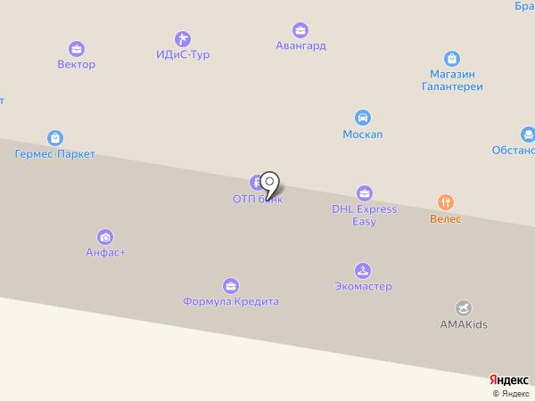ЭкоЛайф на карте Москвы
