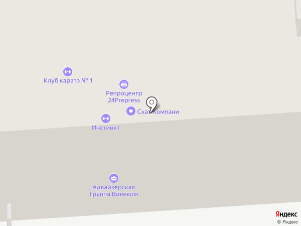 Bugslock на карте Москвы