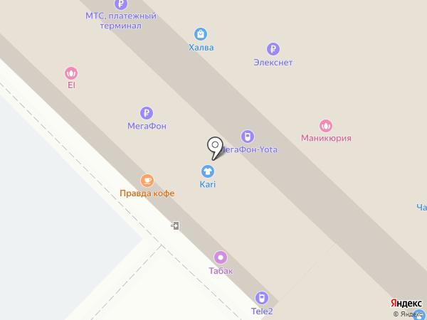 Yota на карте Москвы