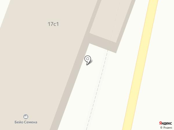 Бейо Семена на карте Совхоза имени Ленина