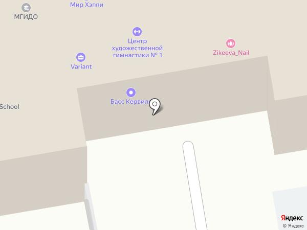 Контакт на карте Москвы