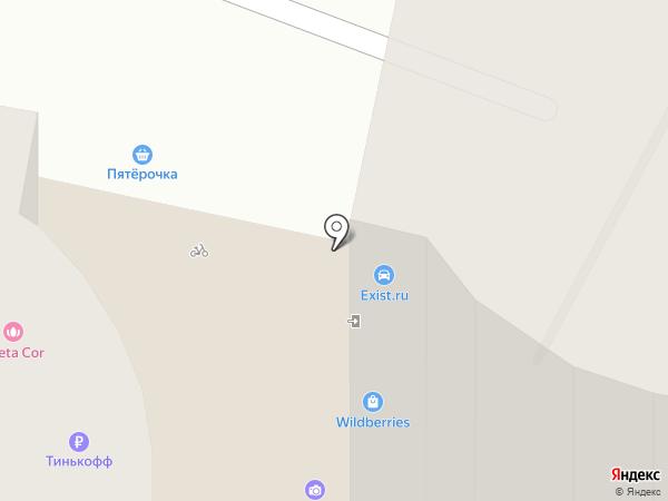 Мегаполис на карте Совхоза имени Ленина