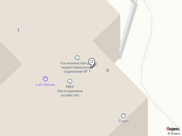Моссремонт на карте Мытищ