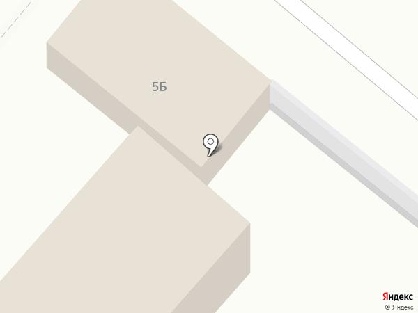 Переулок на карте Мытищ