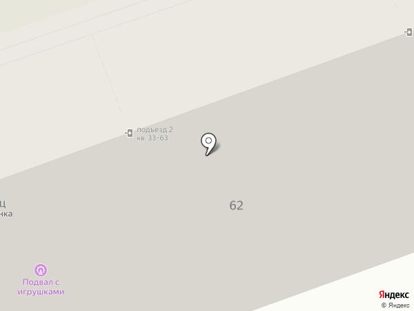 Изостудия Ольги Дмитриевой на карте Москвы