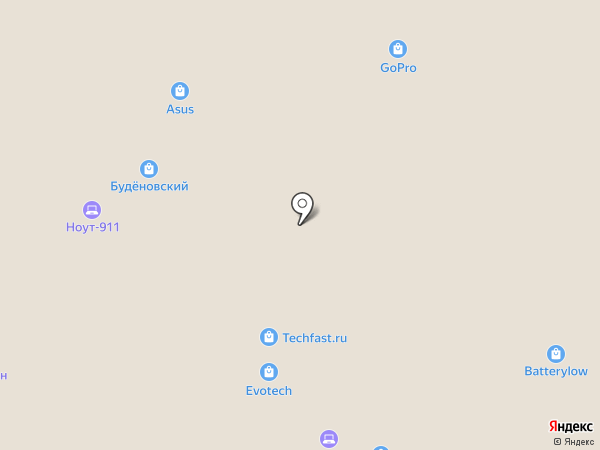 Ресурс-Про на карте Москвы