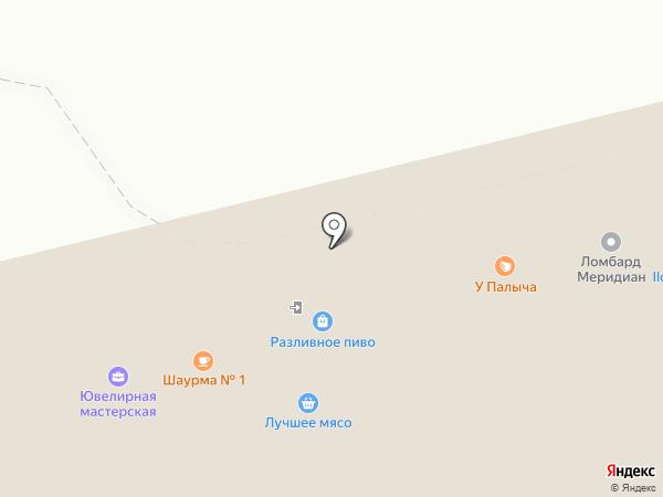 Русский Лен на карте Москвы