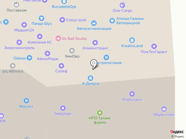 Interelcom на карте Москвы