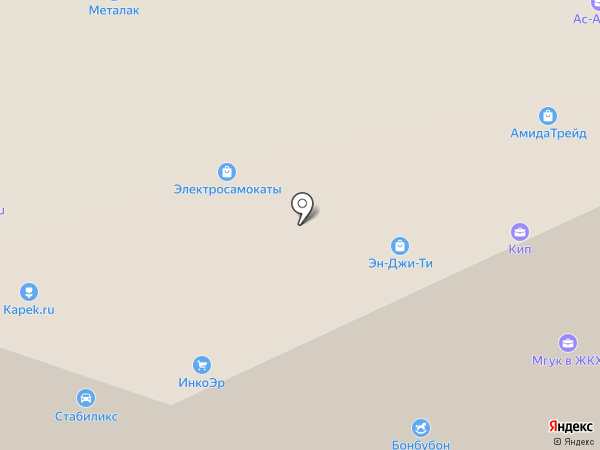 NGT, Ltd на карте Москвы